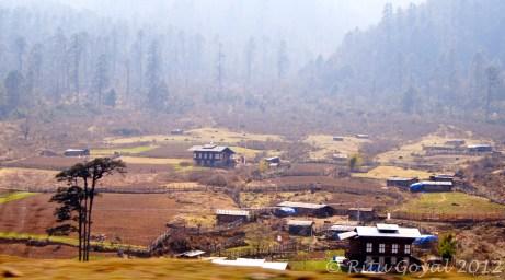 Phobjika Valley on way to Bumthang