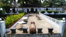 The Fort House hotel jetty at Mattancherry