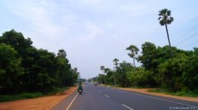 East Coast road that leads to Chennai and Auroville