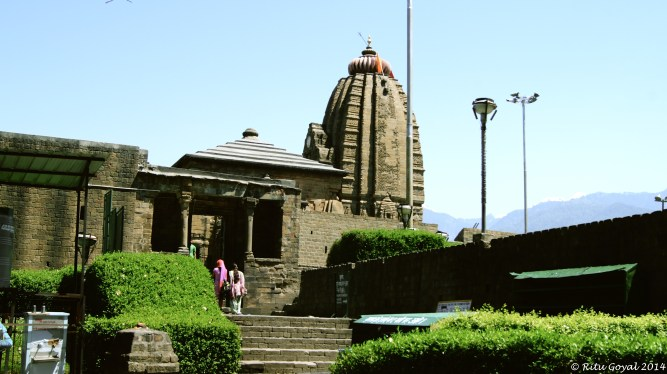 Ancient Shiva temple at Baijnath