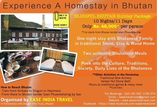Blissful Bhutan Flyer Homestay